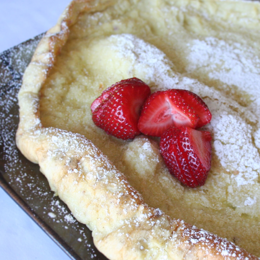 Dutch Baby Pancake Recipe – Cast Iron Skillet Dutch Babies
