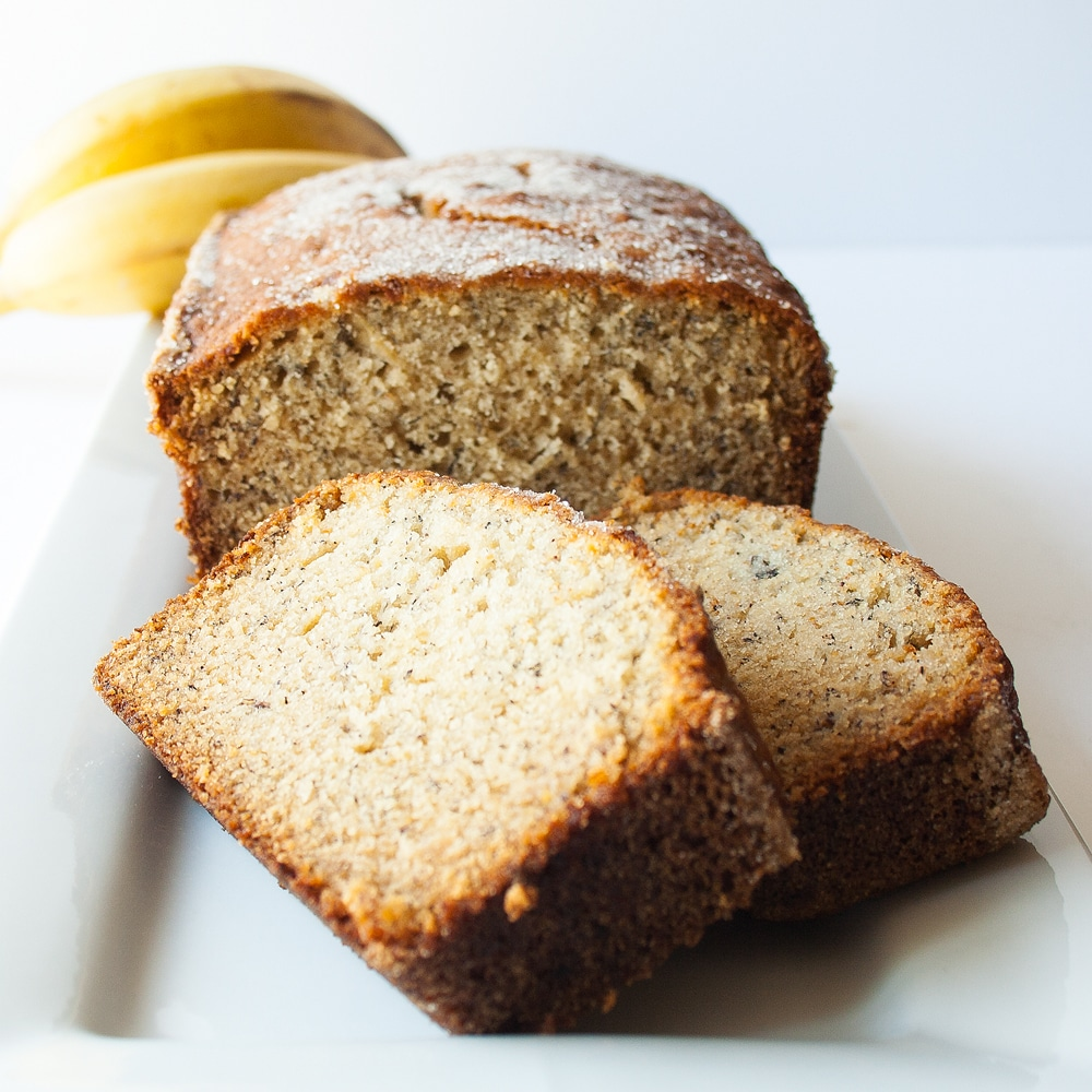 Super Moist Banana Bread Recipe + VIDEO