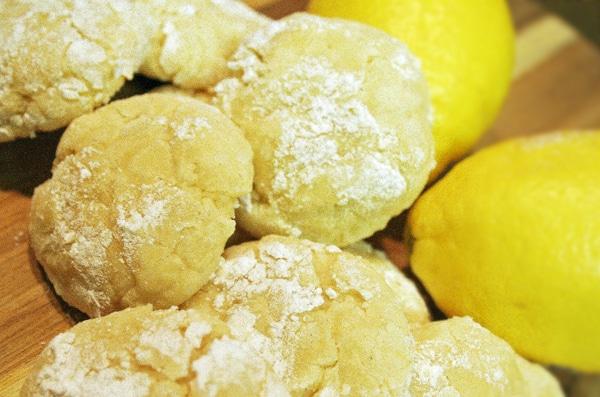 Lemon Butter Button Cookies Recipe – Lemon Crinkle Cookies