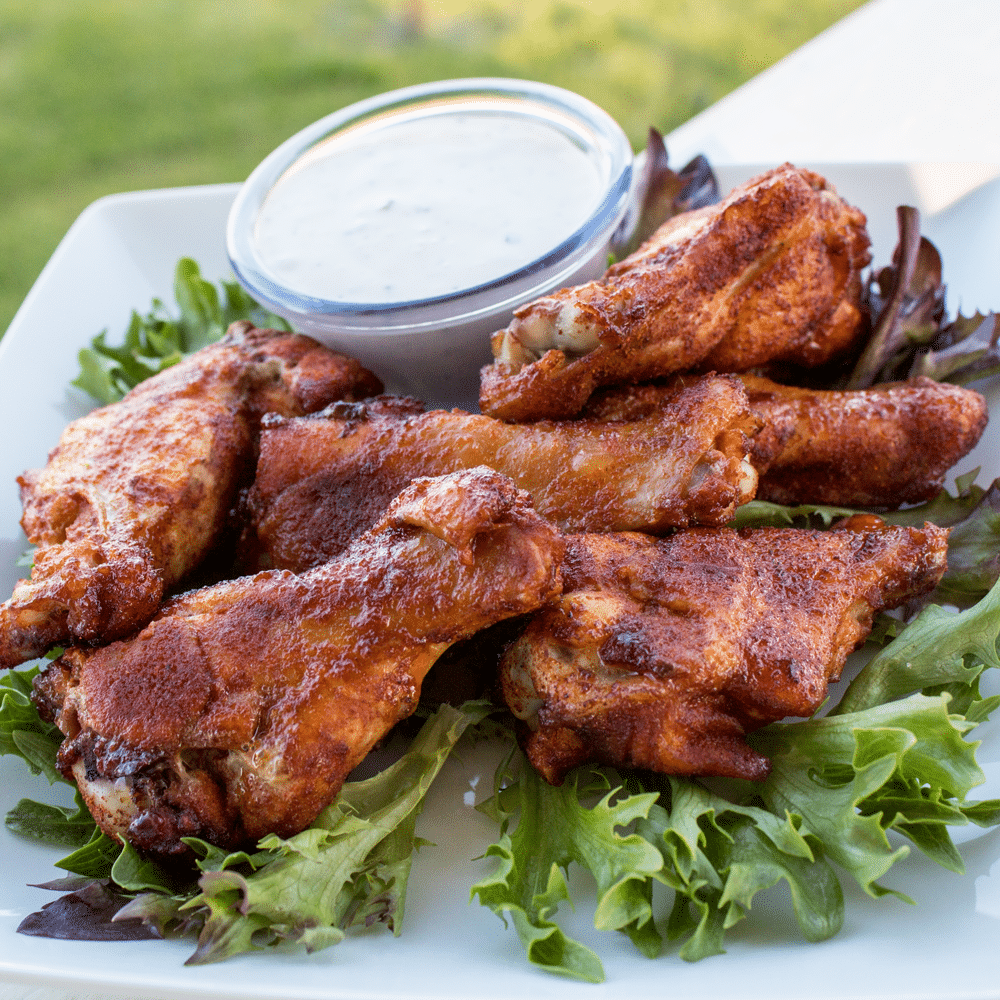 For a milder spice, use less cayenne or use more if you like it hotter. Feel free to adjust the spicy chicken wings blend to suit your own taste.