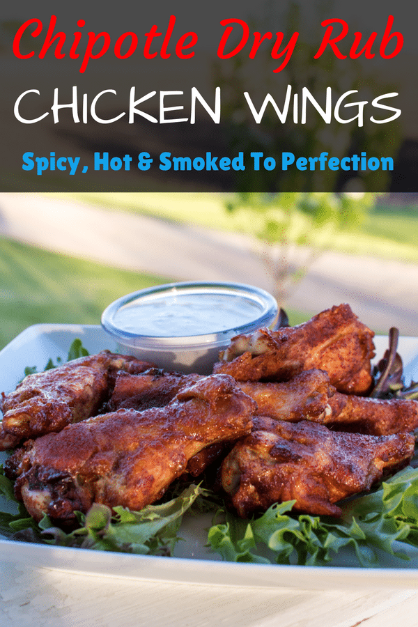 Chipotle Dry Rub Smoked Chicken Wings
