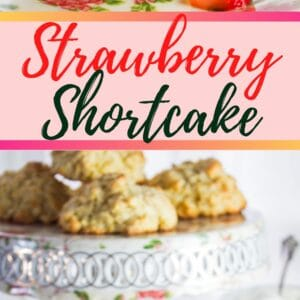 This classic Strawberry Shortcake recipe is so easy but so very delicious and the perfect use of fresh summer strawberries