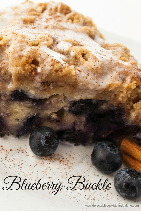 Blueberry Buckle, www.bakeitwithlove.com