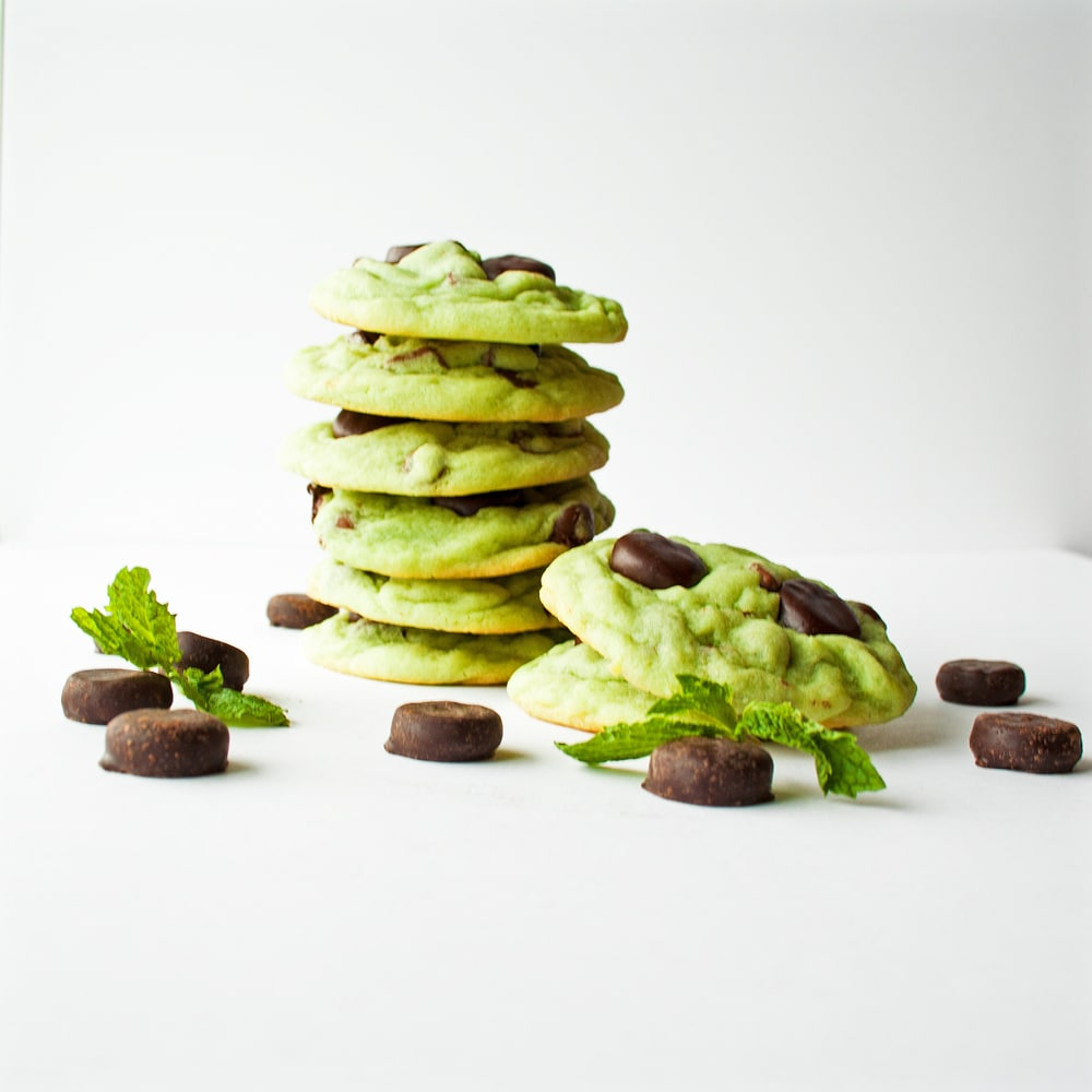 Mint Chocolate Chip York Mini Mint Patty Cookies