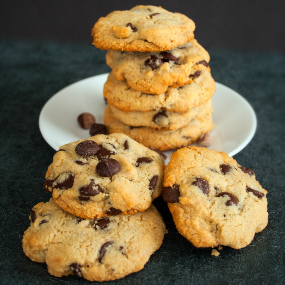 Paleo Chocolate Chip Cookies | Bake It With Love