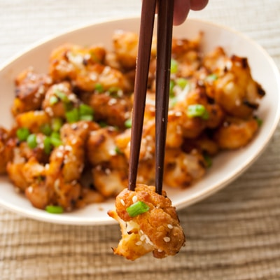 Asian Miso Roasted Cauliflower recipe, www.bakeitwithlove.com