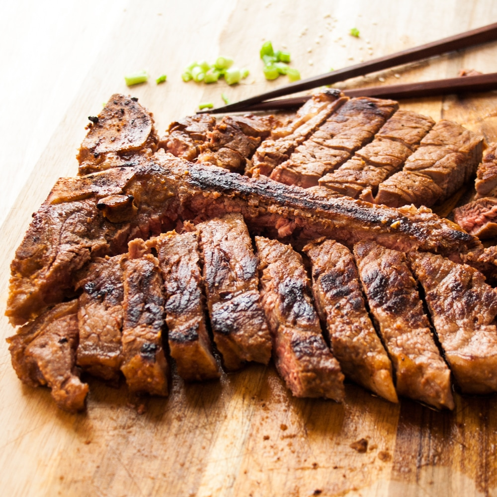 Red Miso Porterhouse Steak