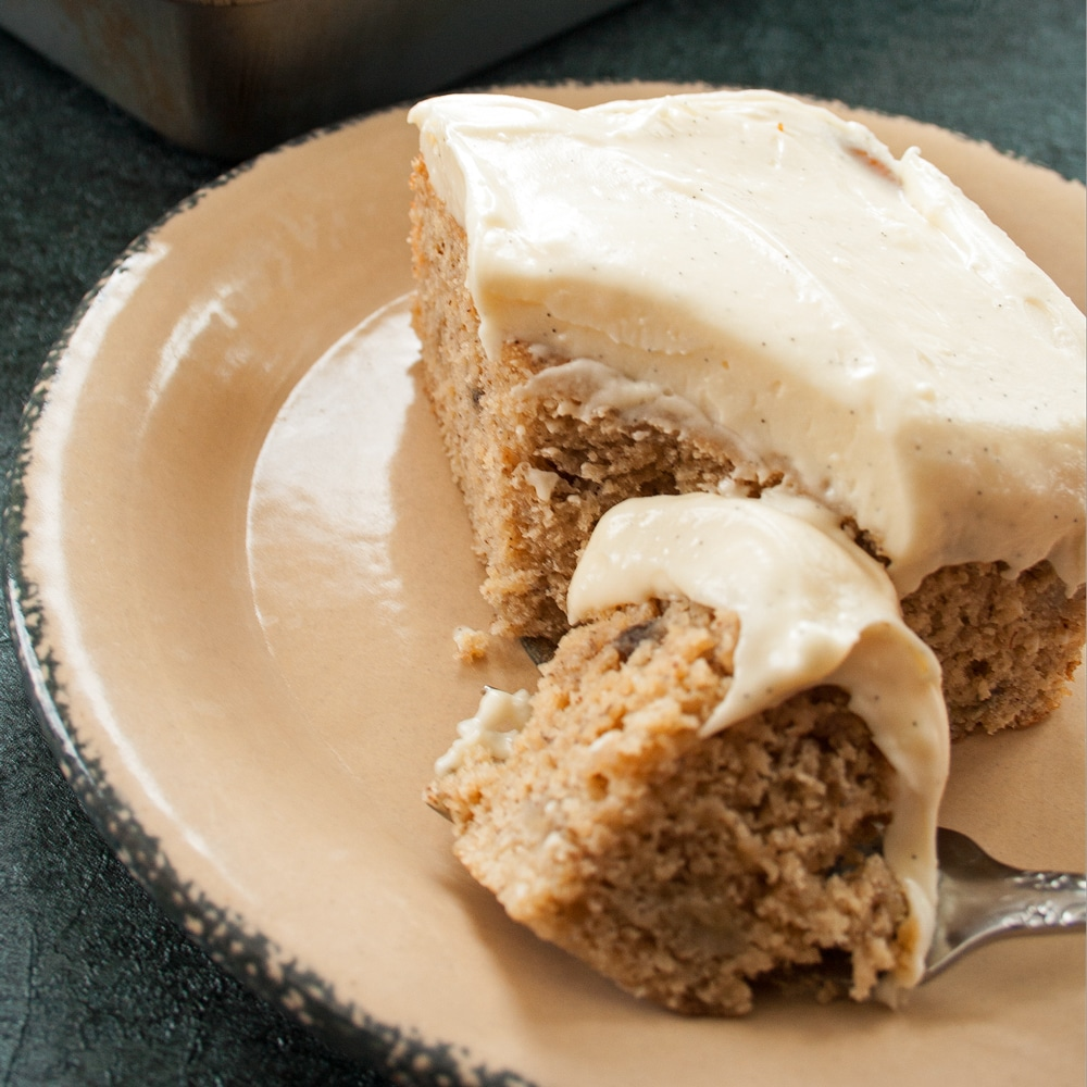 Banana Cake Frosting Without Cream Cheese