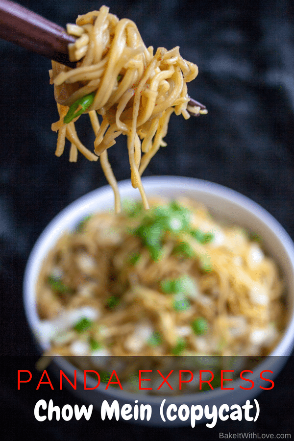 panda express chow mein copycat  bake it with love