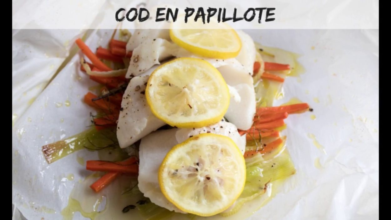Cod En Papillote | Bake It With Love