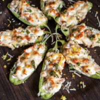 Lobster Jalapeno Poppers + VIDEO