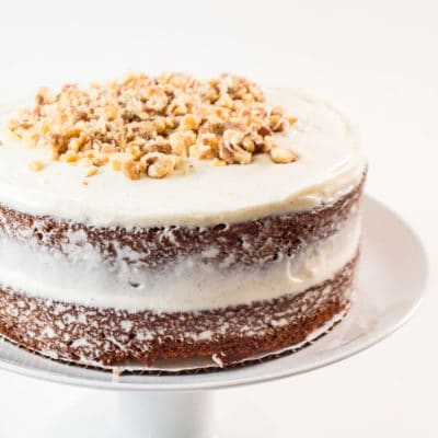 Carrot Cake with Cream Cheese Buttercream Frosting
