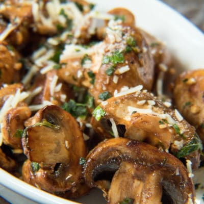 Sautéed Balsamic Mushrooms