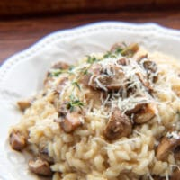 Gordon Ramsay's Mushroom Risotto is an easy to make risotto that is full of wonderful mushroom flavor!