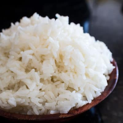 Instant Pot Jasmine Rice turns out perfectly in only minutes with your instant pot pressure cooker!